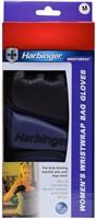 Harbinger Womens WristWrap Bag Gloves - S