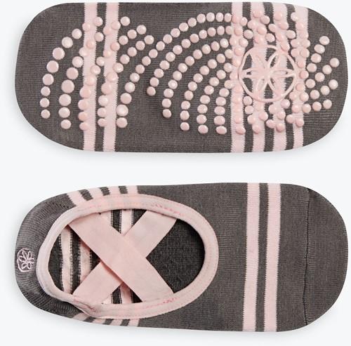 Gaiam Grippy Yoga Barre Socks - Anti-slip Yogasokken - Ballet
