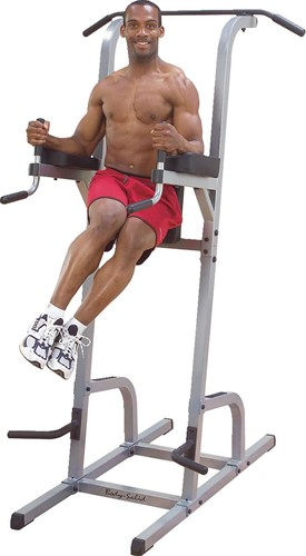 Body-Solid Vertical Knee Raise, Dip, Pull up
