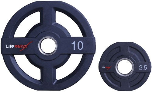 Lifemaxx Olympische Halterschijven - 50mm - 15kg
