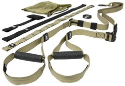 TRX Force Kit - Tactical T3 Military Suspension Trainer - Met App