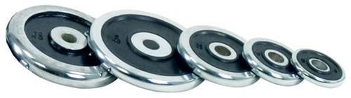 Tunturi Chrome Schijf 0.5kg (30 mm)