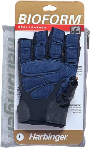 Harbinger BioForm Fitness Handschoenen - Black/Blue-2