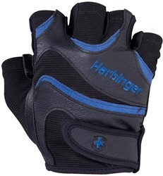 Harbinger FlexFit gloves Black/Blue