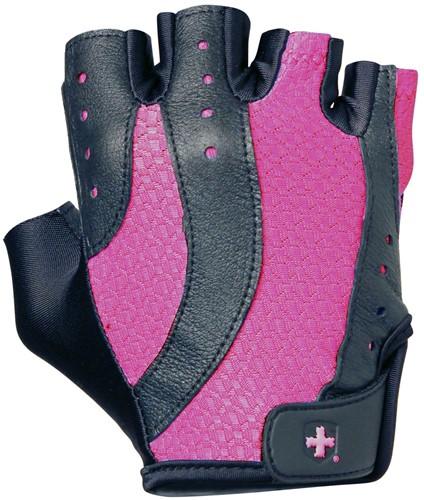 Harbinger Womens pro wash & dry 2 fitness handschoenen (black/pink)