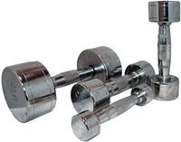 Marcy Chrome Dumbell 9 kg - 1 stuk-2