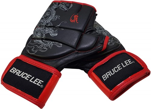 Bruce Lee Dragon MMA Grappling Handschoenen