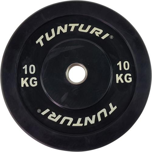 Tunturi Bumper Plate 10kg Black