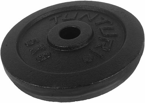 Tunturi Gietijzeren Halterschijf - 30 mm - 5 kg