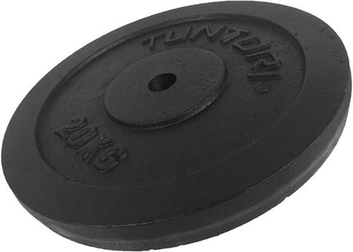 Tunturi Gietijzer schijf 20 kg (30 mm)