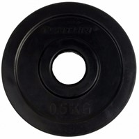 Tunturi Rubberen Halterschijf - 30 mm - 2 x 0,5 kg-2
