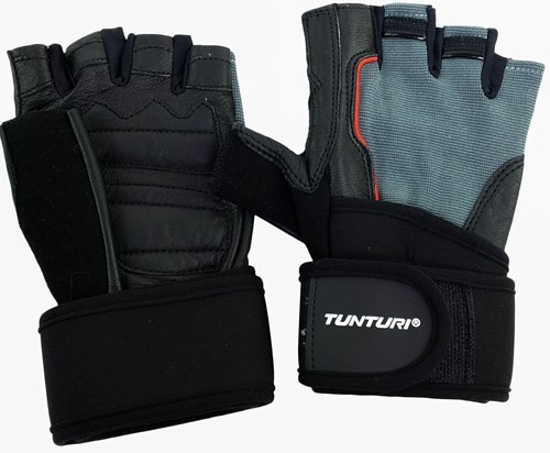 Tunturi Fit Power Fitness Handschoenen met Wrist Wrap