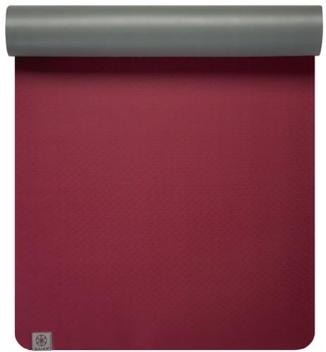 Gaiam Yoga Mat - 5 mm - Earth Lovers Magenta / Grey