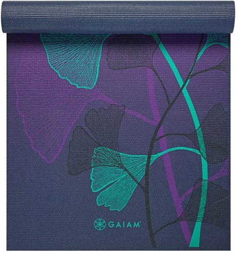 Gaiam Yoga Mat - 6 mm - Lily Shadows