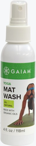 Gaiam Yoga Mat Wash - Fitnessmat Reiningsspray - 118 ml