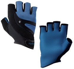 Harbinger Cross Trainer Gloves - Electric Blue