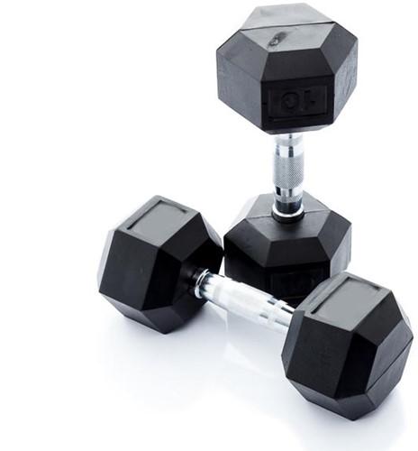 Muscle Power Hexa Dumbell - 17.5 kg - Per Stuk