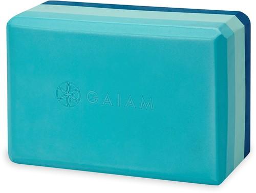 Gaiam Yoga Blok - Skyline Tri-Color