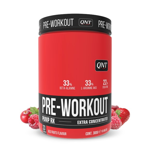 QNT Pump RX Pre-Workout Extra Concentrated - 300 gr - Red Fruits
