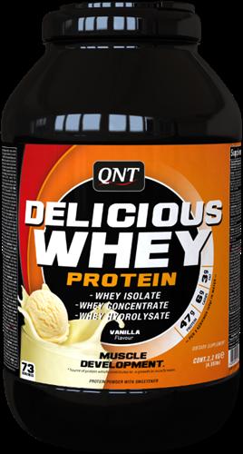 QNT Delicious Whey Protein - 2200g - Vanilla