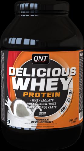 QNT Delicious Whey Protein - 2200g - Coconut