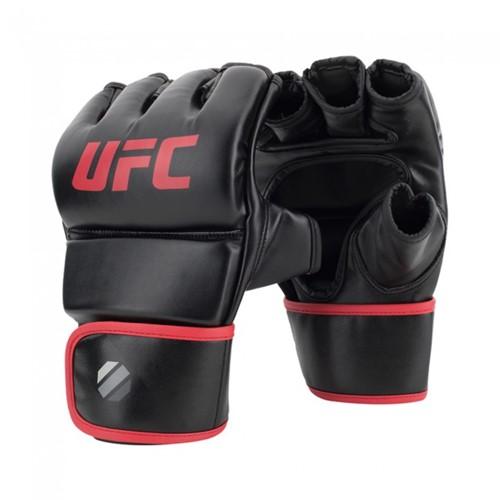 UFC Contender MMA Handschoenen Met Duim Zwart/Rood 6oz