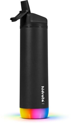 Hidrate Spark Steel Smart Waterfles - 620 ml - Straw - Black