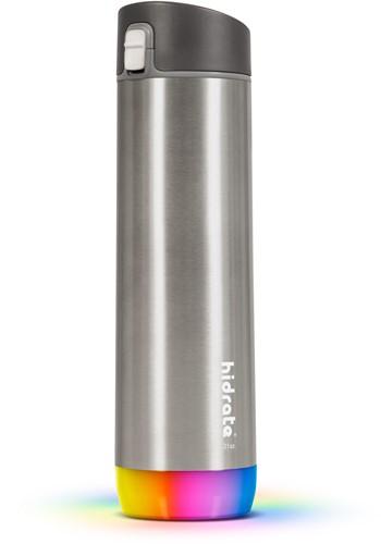 Hidrate Spark Steel Smart Waterfles - 620 ml - Chug - Brushed Stainless Steel