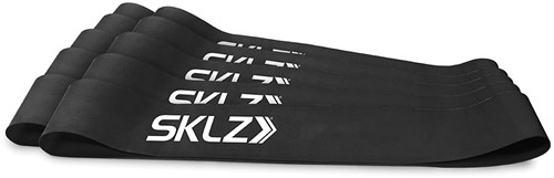 SKLZ Mini Bands - Zwart - 10 Stuks