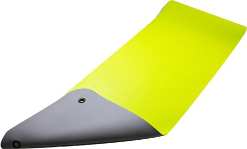 Reha Fit Fitnessmat Limoen/Grijs 180x65 cm-2