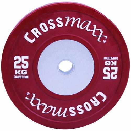 Lifemaxx Crossmaxx Competition Bumper Plate -  50 mm - 25 kg