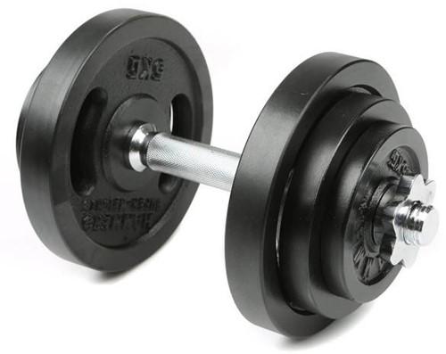 Hammer Dumbbell Set - Zwart - 1 x 20 kg