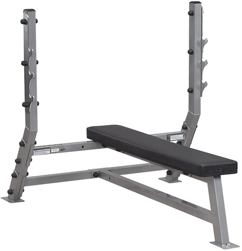 Body Solid Olympic Flat Bench Halterbank