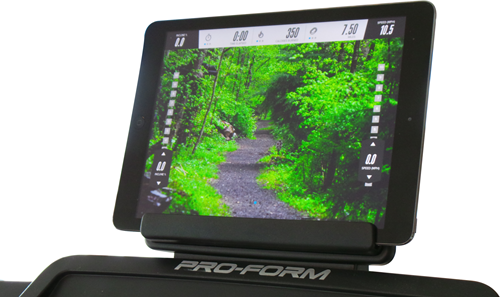 ProForm Performance 300i loopband tablet1