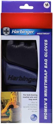 Harbinger womens wristwrap bag fitness handschoenen verpakking