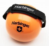 Harbinger Fitnessbal met Velcro binding om hand-2