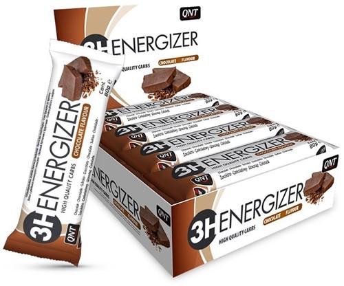 QNT 3H Energizer Bar - 15 repen - Chocolade