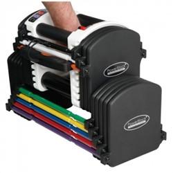 Powerblock Flex u90 stage 1 (2,3 - 22,7 kg per paar)