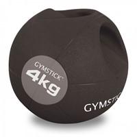 Gymstick medicijnbal met handvaten - 4 kg - Licht verkleurd - Verpakking ontbreekt