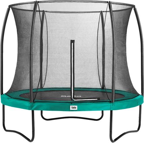 Salta Comfort Edition Trampoline met Veiligheidsnet - 213 cm - Groen