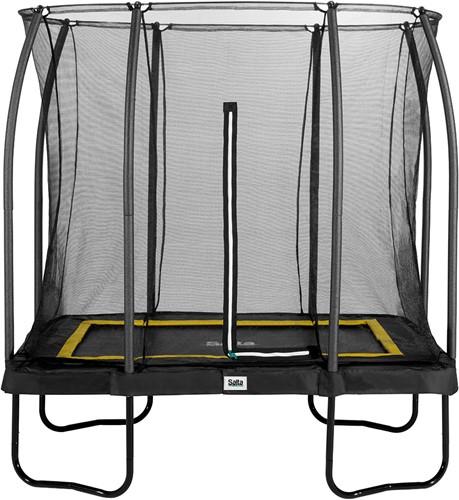 Salta Comfort Edition Trampoline met Veiligheidsnet - 153 x 214 cm - Zwart