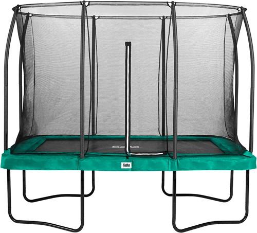 Salta Comfort Edition Trampoline met Veiligheidsnet - 214 x 305 cm - Groen