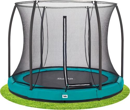 Salta Comfort Edition Ground Trampoline met Veiligheidsnet - 213 cm - Groen