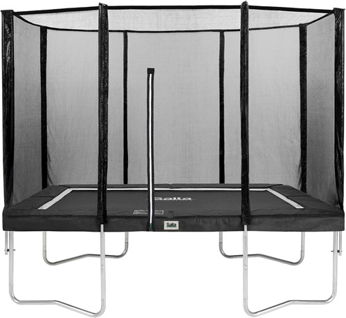 Salta Combo Trampoline met Veiligheidsnet - 214x305 cm - Zwart - Tweedekans