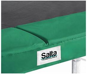 Salta Trampoline Beschermrand - 153 x 214 cm - Groen