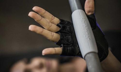 Harbinger Thin Bar Grips-2
