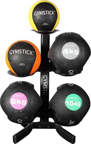 Gymstick rek voor medicijnballen en kettlebells - Mist 1 houder-3