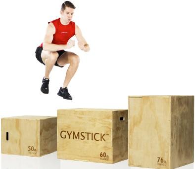 Gymstick Houten Plyo Box 3-in-1