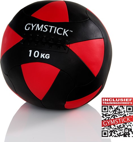 Gymstick Wallball Met Trainingsvideos - 10 kg