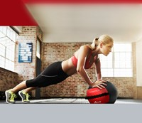 Gymstick Wallball Met Trainingsvideos - 4 kg-2